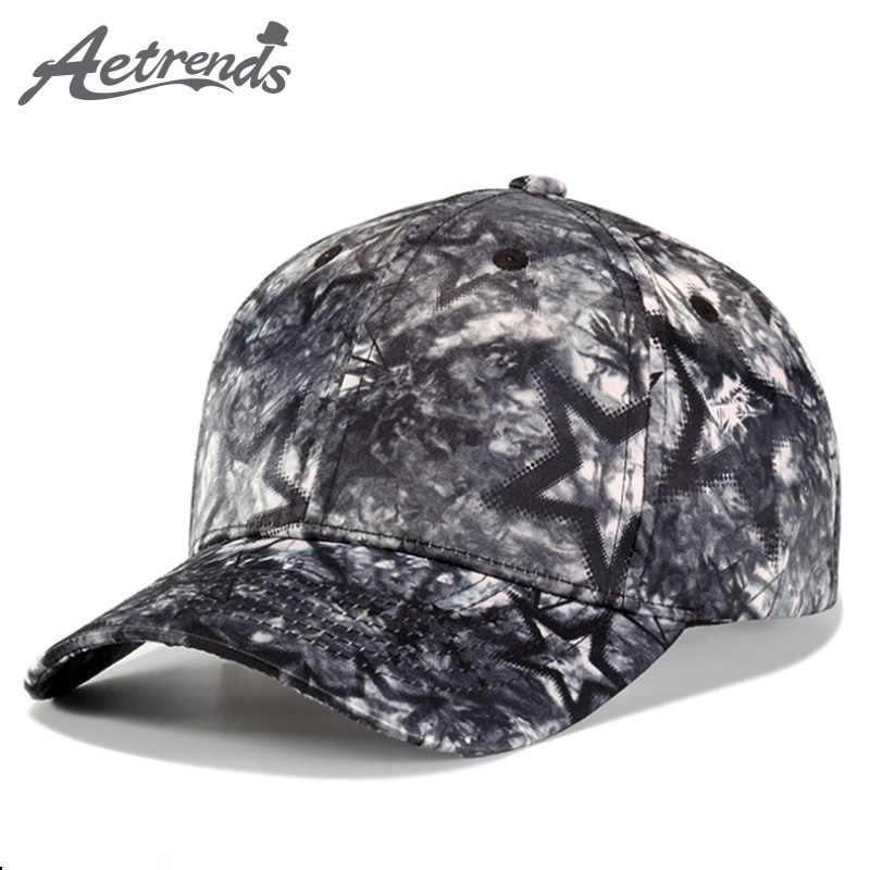 AETRENDS  2018 nuevo Cool estrellas gorra de béisbol hombres mujeres al  aire libre Snapbacks 0a343297134
