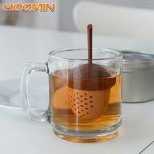 HOOMIN Acorn Shape Spice Diffuser Silicone Tea Bag Strainer