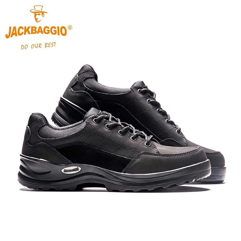 Waterproof work shoes steel top cap