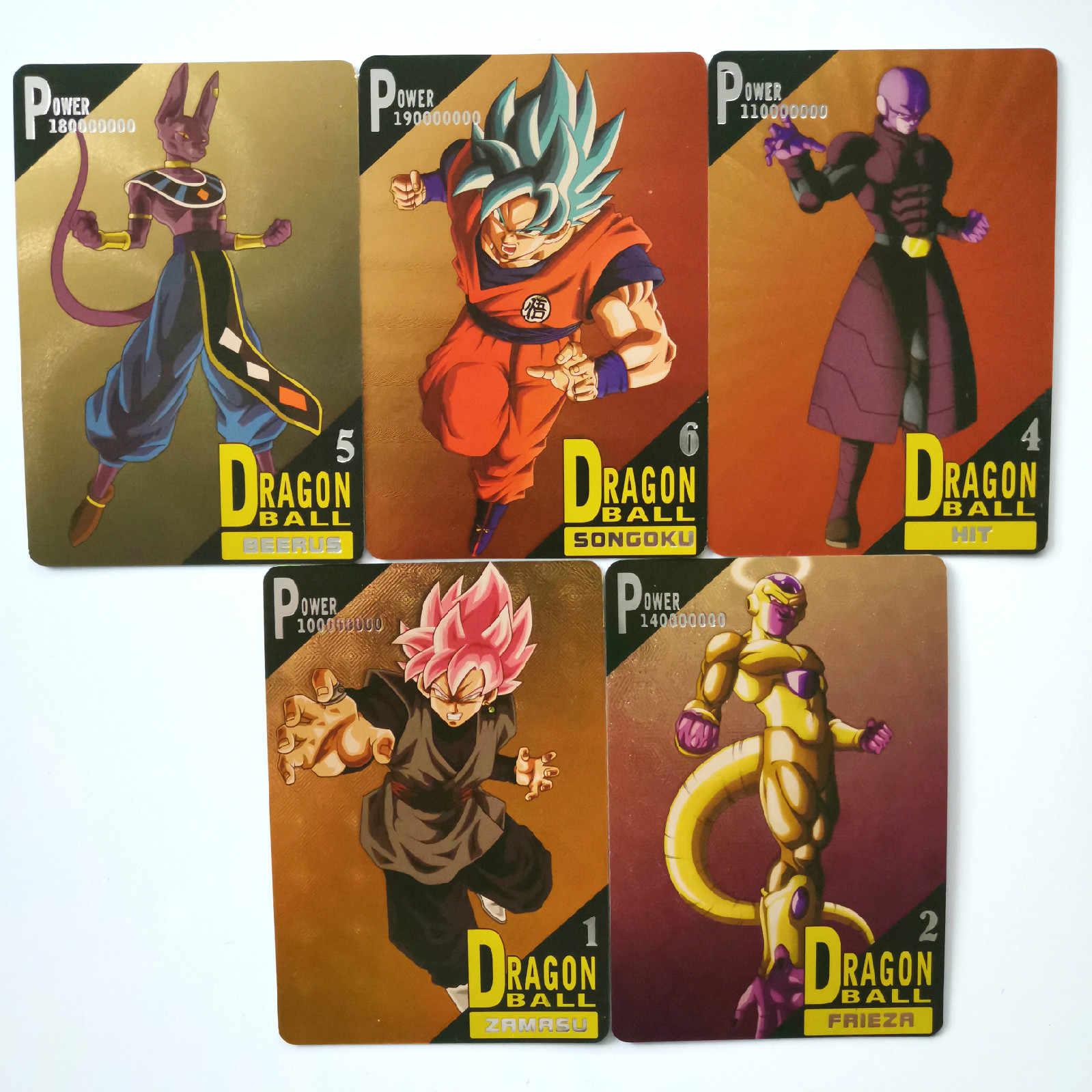 32pcs Super Dragon Ball Z Only 20 Sets Heroes Battle Card Gogeta Ultra Instinct Goku Vegeta Game Collection Anime Cards