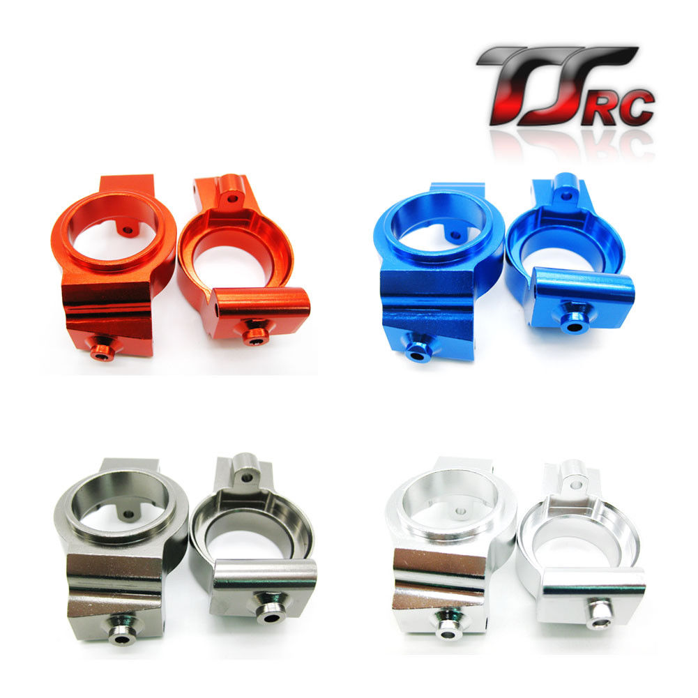 Alloy CNC Front Hub Carrier 2PCS For 1 5 Traxxas TRX X Maxx XMAXX