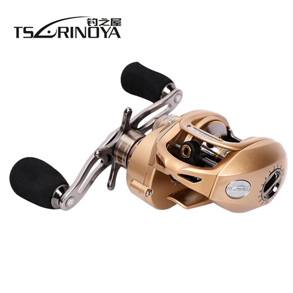TSURINOYA Baitcasting Fishing Reel 9+1BB 7.0:1 Left/Right Hand Bait Casting Reel for Saltwater/Freshwater Carp Fishing Wheel цены