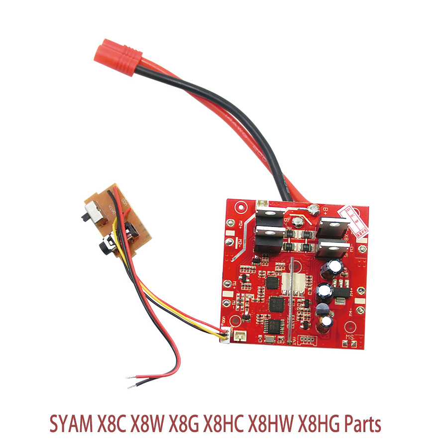 Original authentic Syma X8C-17 Receiver / Main Board Spare Parts For Syma X8 X8C 4Ch RC Quadcopter Helicopter f09166 10 10pcs cx 20 007 receiver board for cheerson cx 20 cx20 rc quadcopter parts