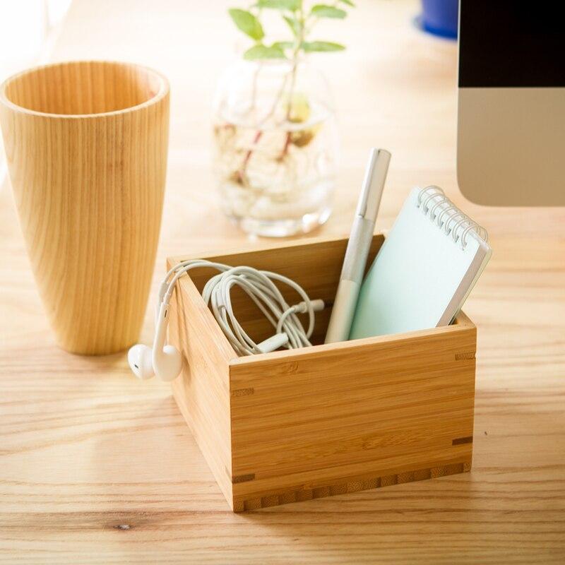 Cool Us 18 57 Bamboo Square Gift Box Coffee Bean Tea Storage Box Bedside Table Holder Small Bamboo Box For Watch Organizer 11 11 7 5Cm 1Pcs In Storage Inzonedesignstudio Interior Chair Design Inzonedesignstudiocom