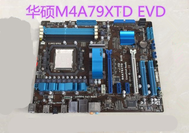 ФОТО AM3 790X motherboard used original  for  ASUS M4A79XTD EVD AM3 DDR3