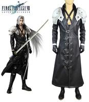 Final fantasy vii: advent children sephiroth shin'ra hero uniform gry cosplay costume
