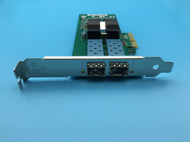 82576 2SFP Gigabit Dual-port Fiber-optic Network Card Supports Multi-mode Single-mode E1G42EF-SFP new new sfp 1550nm100 km gigabit single mode fiber optic sfp 10g zr module