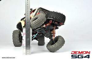Image 5 - CROSS RC 1/10 kit SG4 4X4 4WD DEMON Rock Scale Crawler ABS Hard Body with Metal Axles sports crawler