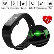 Bluetooth smartwatch smart watch монитор сердечного ритма браслет браслет группа smartband активность tracker фитнес для ios android