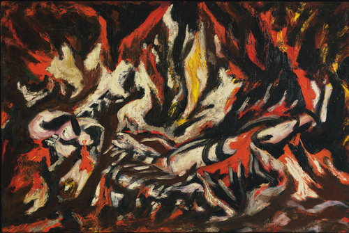 100% handmade Oil Painting on linen canvas, the-flame-1938,Free DHL Shipping,100%handmade,Museum Quality,abstract oil painting100% handmade Oil Painting on linen canvas, the-flame-1938,Free DHL Shipping,100%handmade,Museum Quality,abstract oil painting