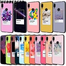 WEBBEDEPP Color Pantone Soft TPU Cases Cover for Xiaomi Redmi 7 4A 5A 6A S2 4 4x 5 Plus 6 Pro