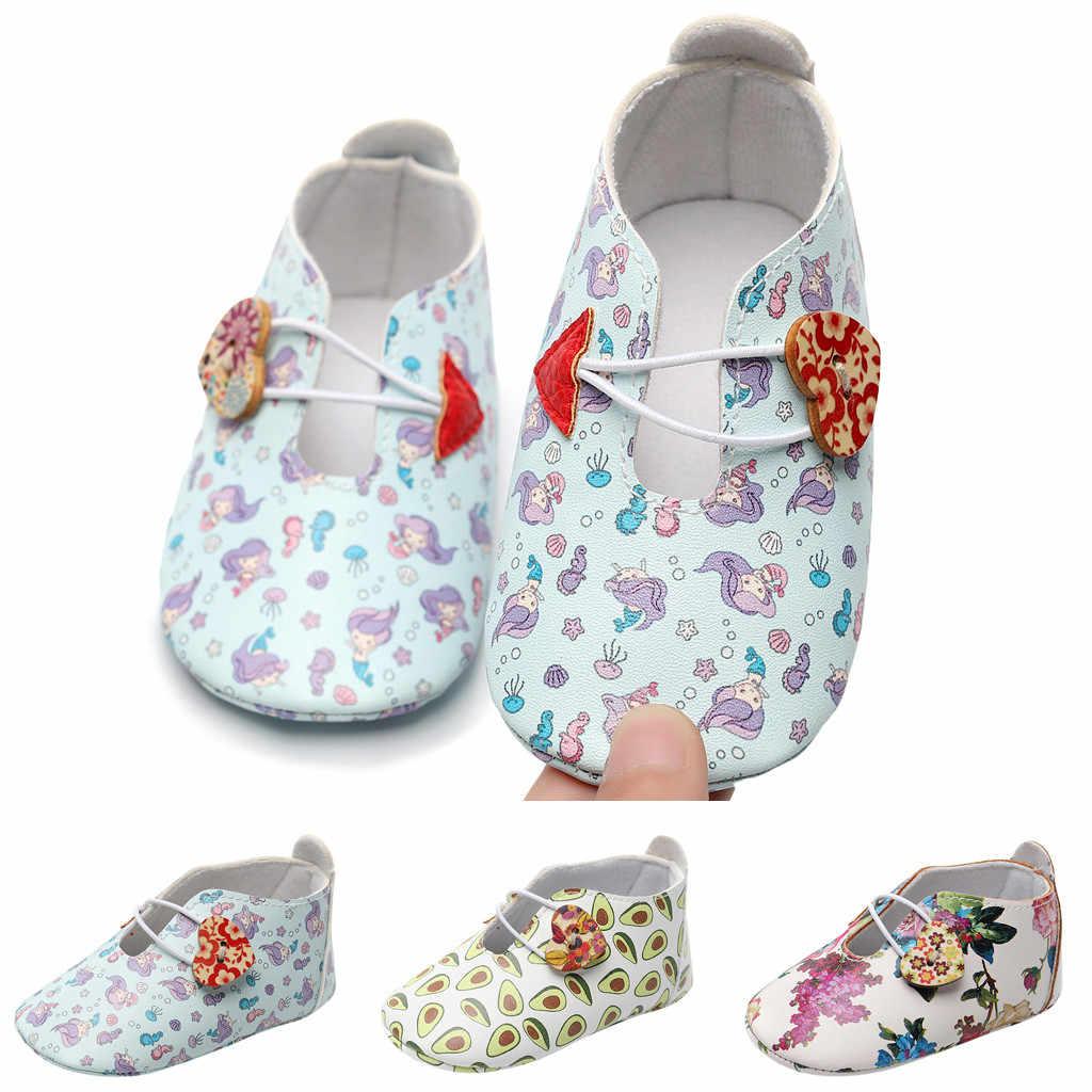 2019 פעוט ילדה יילוד תינוקות תינוק בנות עריסה קיד נעליים רך Sole אנטי להחליק סניקרס Bowknot לאסי נעלי עבור תינוקות P20