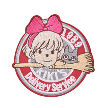 New 1989 Kikis Delivery Service Patch Embroidered Anime Sew Iron on Applique Badge Hot Sale
