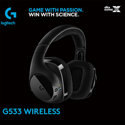 Logitech G533 7.1 Wireless Gaming Headset Surround Sound Gaming Headphones Headset DTS Ear Fone With Microphone 20Hz -20 KHZ Q70