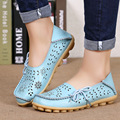 Spring Women Flats shoes Pu leather women casual shoes large size soft ladies comfortable women flats zapatos mujer 2017 DT679