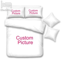 Customize Dropshipping 3D Bedding Sets Printed Duvet Cover Set Queen King Twin Size(China)