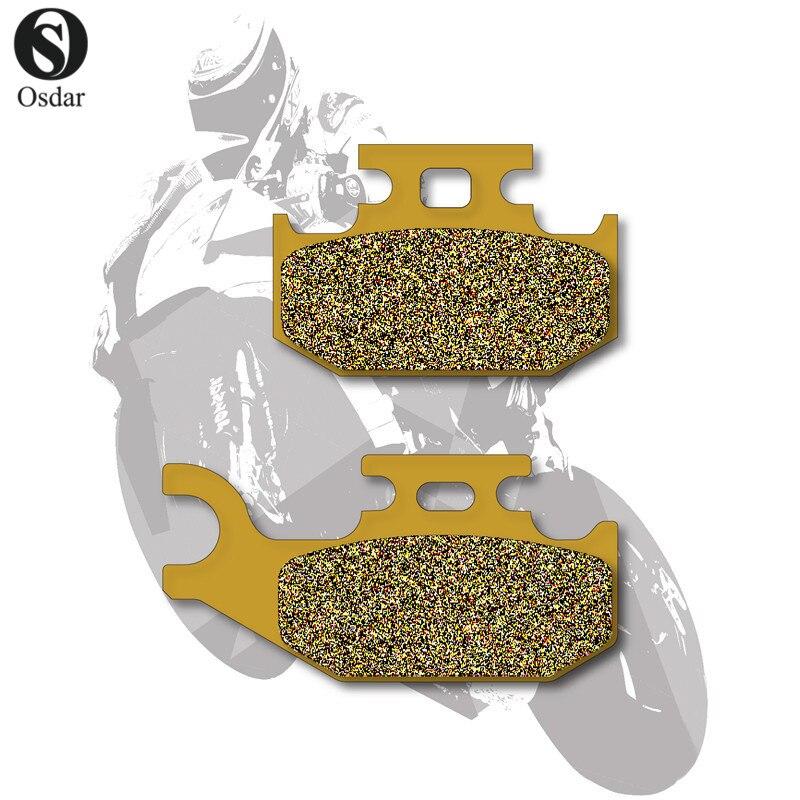 Motorcycle Brake Pads Front+Rear For YAMAHA ATV Raptor 700 06-09 YFM 700 07-09 Rhino 700 2008