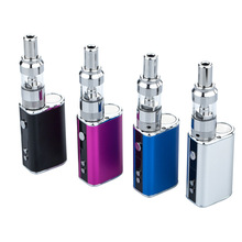 1PCS Original Adjustabl Voltage Mini 10W Electronic Cigarette Box MOD LED Display Vape 1100mAh e-cigarettes Mod Kit