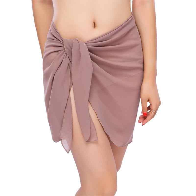 セクシーなビーチカバーアップサロン夏ビキニカバーアップビーチドレススカートタオル