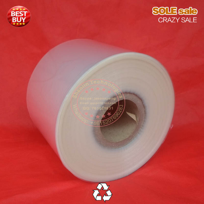 PP film, Tea bagging film roll 160mm plastic package, food grade heat sealable bag, 60micro packaging film materials, clear film haw slice tea fresh premium hawthorn dry film big tank 220g tea flowers