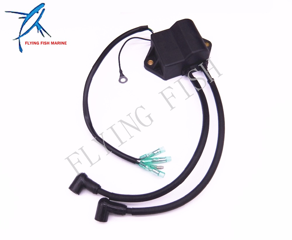 Boat Motor T8-05030000 T6-05030000 Ignition Coil Assy for Parsun 2-Stroke T6 T8 T9.8 Engine High Pressure Assy,Free Shipping