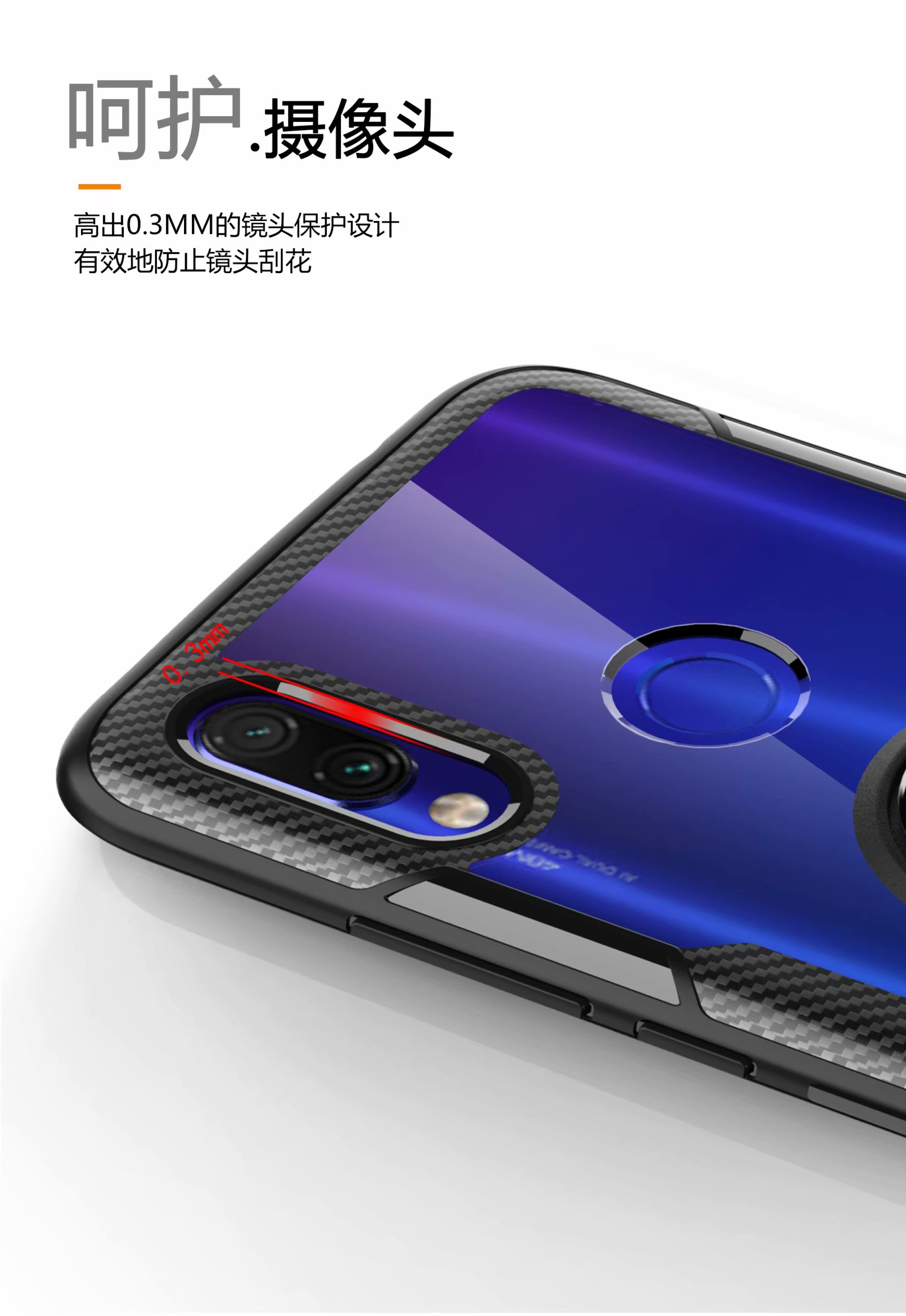 HTB10D1vUMHqK1RjSZFgq6y7JXXae For Xiaomi Redmi Note 7 Pro Case With Ring Stand Magnet Transparent shockproof Protective Back Cover case for xiaomi redmi 7
