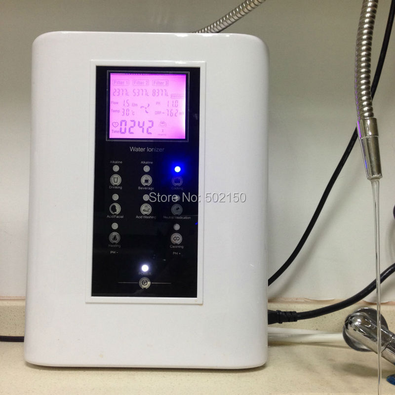 Ionizer Type and CE Certification Alkaline water ionizers OH-806-3H with 3-stage pre filters