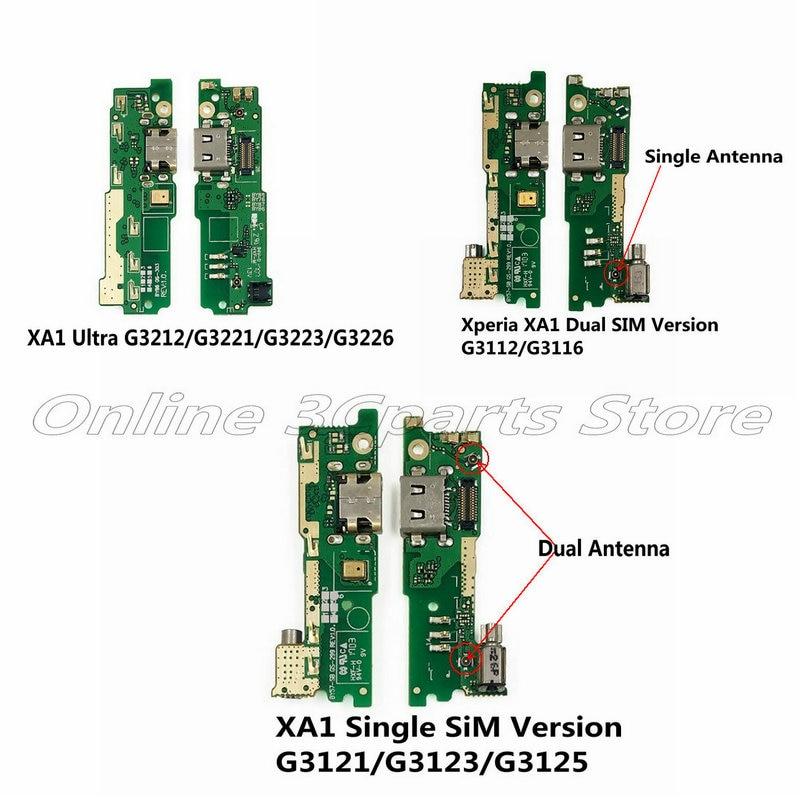 USB Charge Board For Sony Xperia XA1/XA1 Ultra G3121/G3123/G3125/G3112/G3116/G3212/G3121/G3123/G3126 Charging Port Dock Moduel
