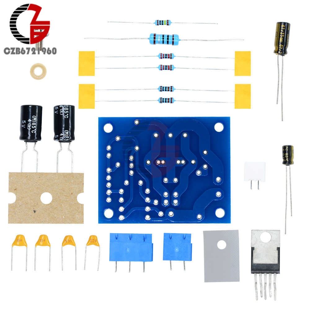 Audio Amplifier Tone Control Circuit Using Lm1875t And