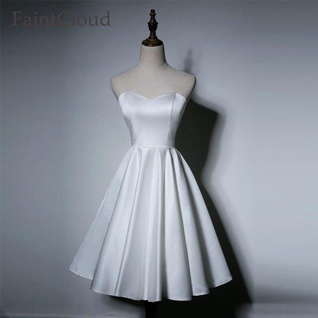 Vestidos de novia sin adornos