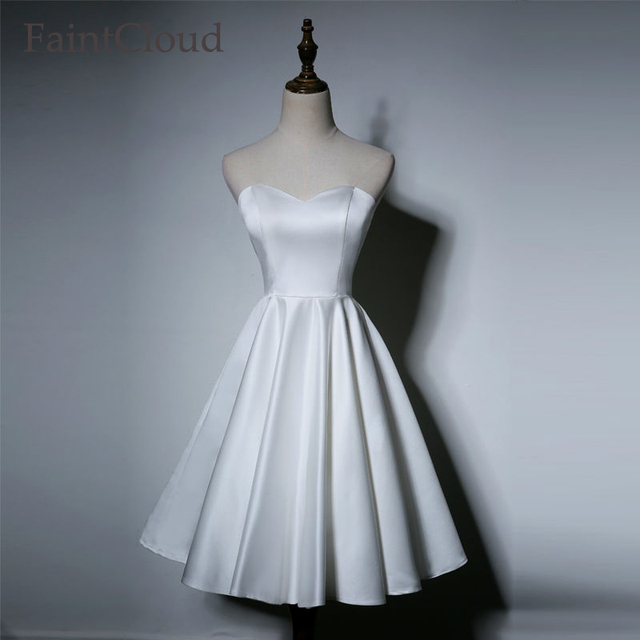 Aliexpress.com : Buy High Lace Up Soft Matte Satin Wedding Elegant ...