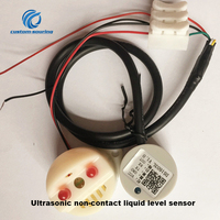 Free shipping Ultrasonic non contact liquid level sensor with buzzer option Ultrasonic sensor for metal container