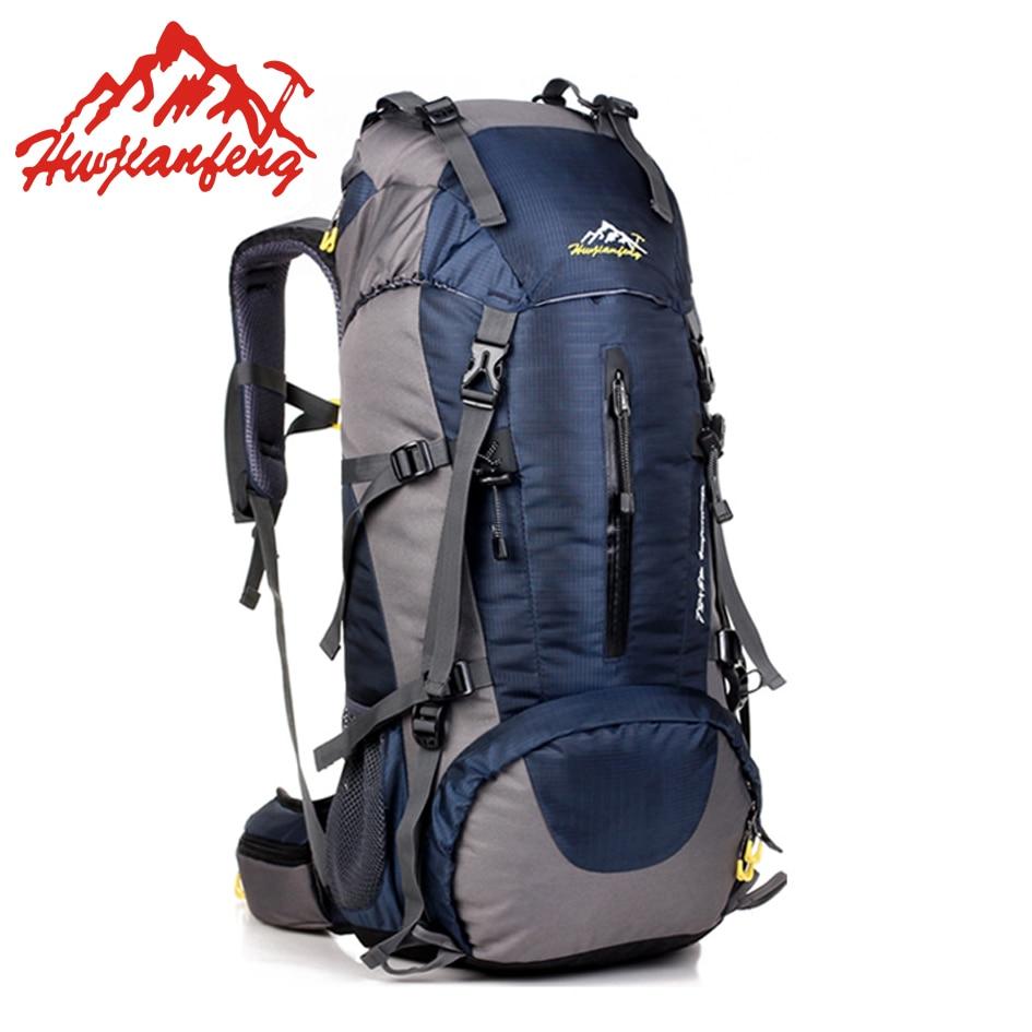 Рюкзак 50L большие водостойкие дорожные сумки рюкзак мужские нейлоновые уличные походные велосипедные спортивные рюкзаки женские альпинис...