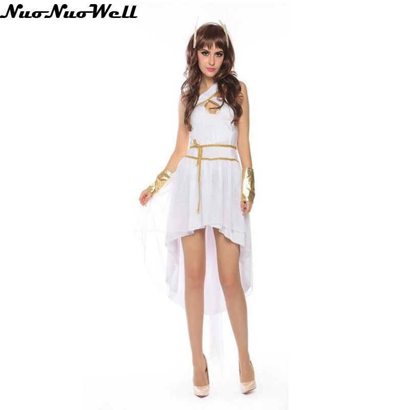 Hot Sale White Sexy Egyptian Cleopatra Costume Ladies