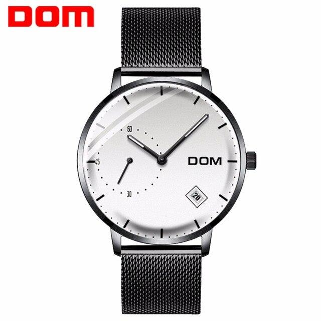 3a8bab0fa751 Reloj de cuarzo DOM para hombre