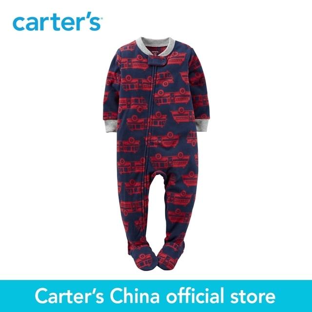 0d1d21f7e Carter s 1pcs baby children kids 1 Piece Fleece PJs 347G143
