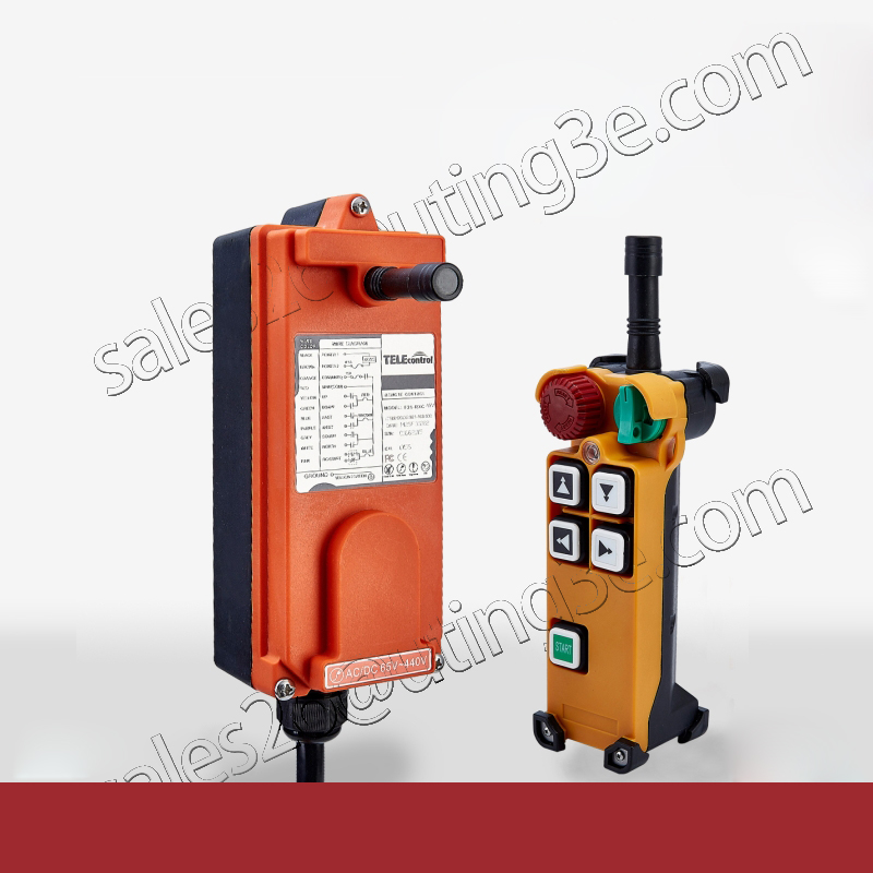 Telecontrol F21 4D industrial radio remote control AC DC universal wireless control for crane 1transmitter and