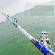 Metal Boat lure fly ice feeder Carp sea Rods heavy 1.8  2.1 meters raft iron rod support ship deep sea carbon lures fishing pole