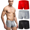 Modal Underwear Men Breathable U Convex Panties High Permeability Sexy Male Shorts Boxers Men Cuecas