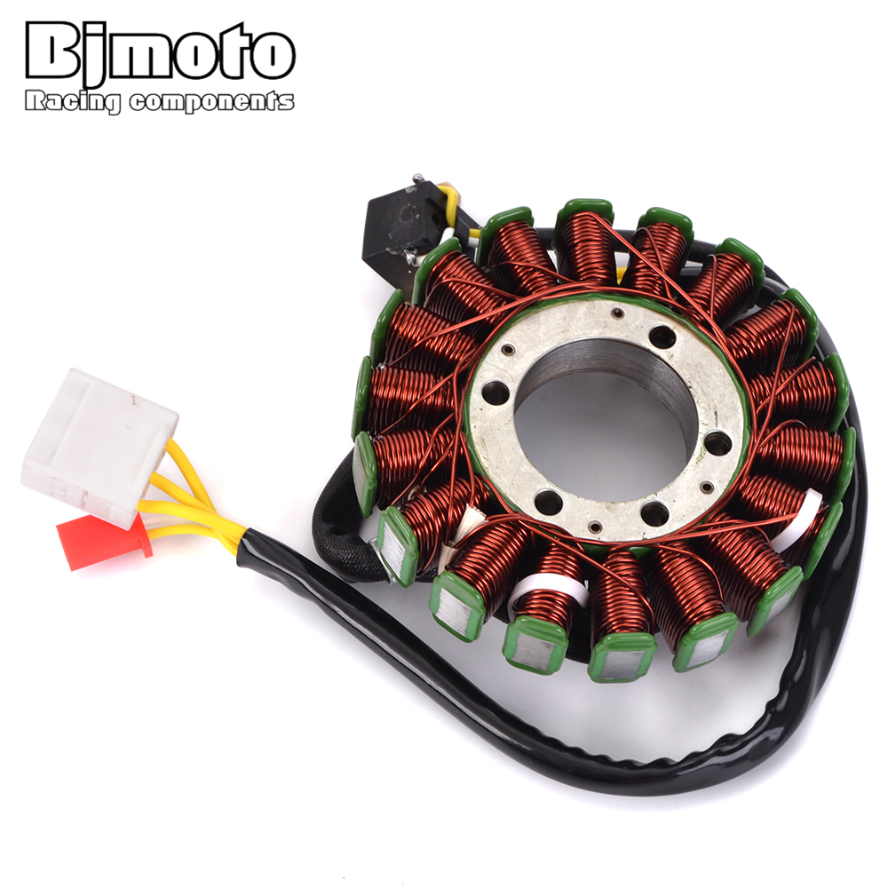 BJMOTO Motorcycle Stator Coil For Honda NSS250X NSS250EX MF08 FORZA 250X 250EX 2004 2007 Generator Magneto