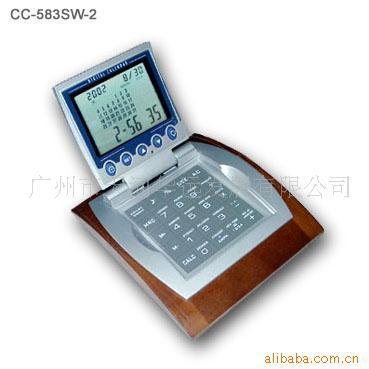 Supply Of Advertising Gift Calendar Wooden Seat Electronic