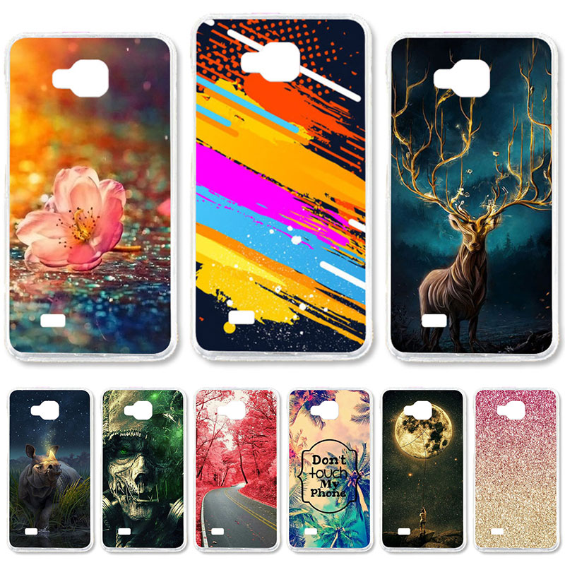 TAOYUNXI Soft TPU Case for ZTE Blade AF3 A3 Case for ZTE Blade A5 A5 pro AF 3 C341 T221 ZTE OPEN C2 4,0 դյույմ DIY ներկված ծածկոցներով