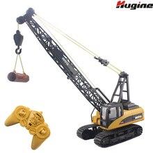 RC Truck Tower Crane 16CH 2 4G Remote Control Hoist Constructing Crawler Excavator Model Electronic Engineering