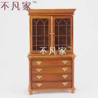 1/12 scale Doll house the proportion of mini dollhouse furniture kitchen cabinet