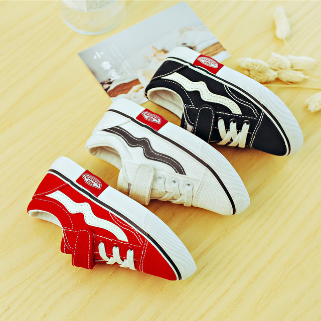 2018 Autumn New Children Canvas Shoes Girls Sneakers Breathable Spring Fashion Kids Shoes For Boys Casual Shoes Student 5
