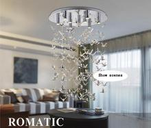 LED Chandeliers Bird Style Dia450*H600mm Modern Chandelier for Dinning Room Lamp and Living Room Light