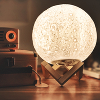 BB Speaker Night Light Music Moon Lamp/Light bluetooth speaker Moon Lamp Led/Remote/3D Moon Lamps Night Lights For Bedroom Decor
