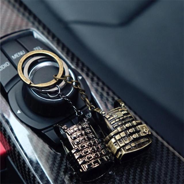 PUBG Bulletproof Level 3 Vest Alloy Key Chain