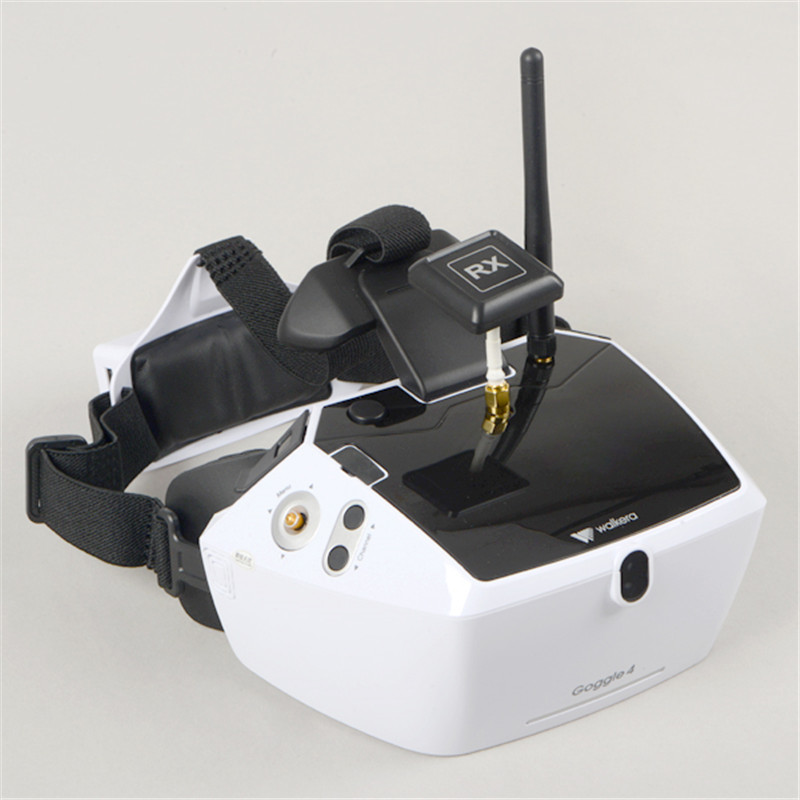 Walkera Goggle 4 FPV Virtual Reality Glasses with 5 HD Large Screen Racing Drone Aerial 3D
