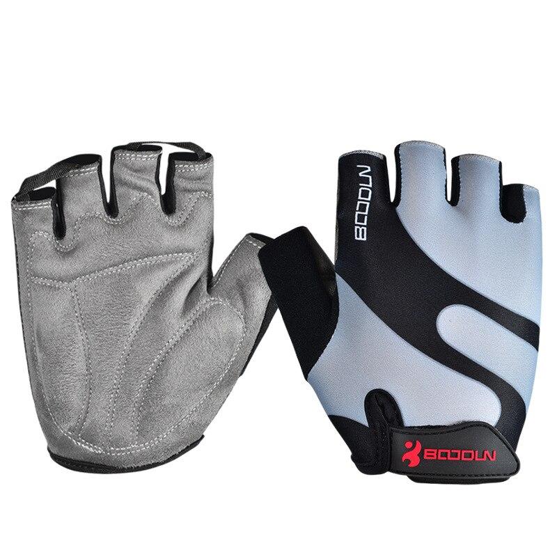 Amara Half Finger Wheelchair Gloves Gel Padded Terry Towel Cycling Gym